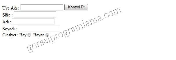 Form oluşturma html web tasarımı ve programlama ders 6