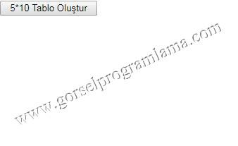 tablo_olustur_asp_net